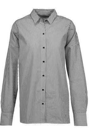 IRO Chirley oversized striped cotton-poplin shirt