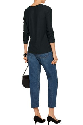IRO.JEANS Callie textured stretch-jersey top