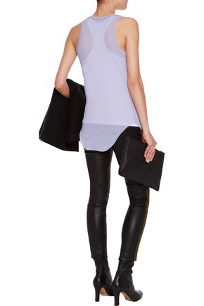 HAIDER ACKERMANN Ribbed cotton and cashmere-blend tank