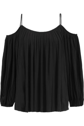 BAILEY 44 Boho cold-shoulder modal top