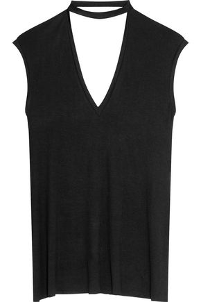 BAILEY 44 Cutout stretch-jersey top
