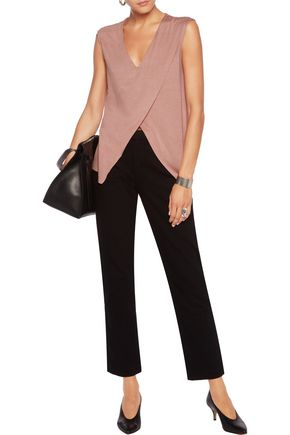 BAILEY 44 Layered stretch-jersey top