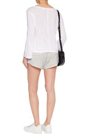HELMUT LANG Cotton-blend jersey shorts