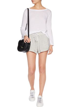 HELMUT LANG Cotton-blend jersey shorts