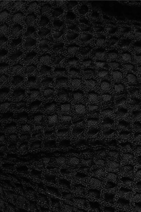 HELMUT LANG Cotton-mesh sweater
