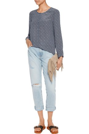 JOIE Wilmington printed silk blouse