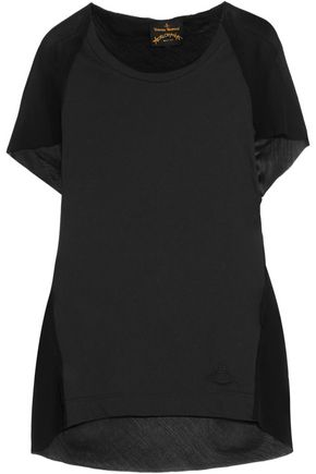 VIVIENNE WESTWOOD ANGLOMANIA Cotton and chiffon top