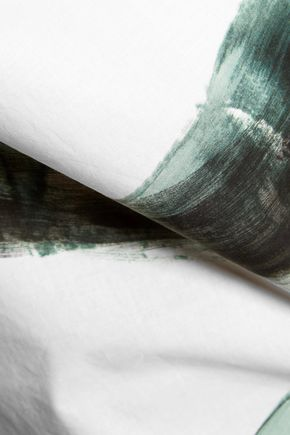 DOLCE & GABBANA Printed cotton-poplin top