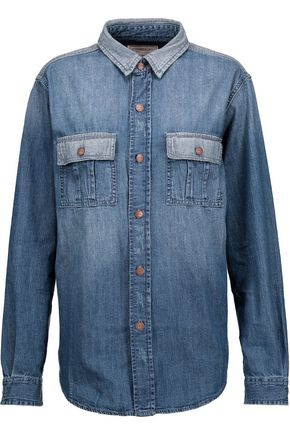 CURRENT/ELLIOTT The Whitney Prep denim shirt