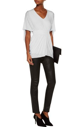 BAILEY 44 Waterloo draped stretch-jersey top