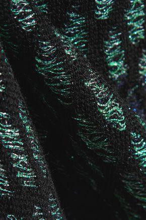 M MISSONI Metallic knitted sweater