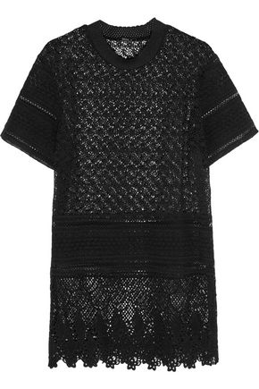 GOEN.J Crocheted cotton tunic