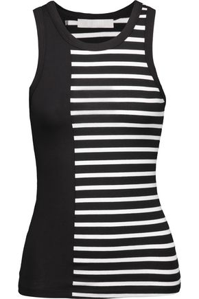 KAIN Holland striped stretch-jersey tank