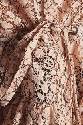 MARISSA WEBB Rania printed corded-lace top