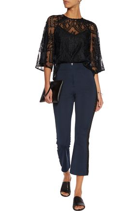 GANNI Lace top