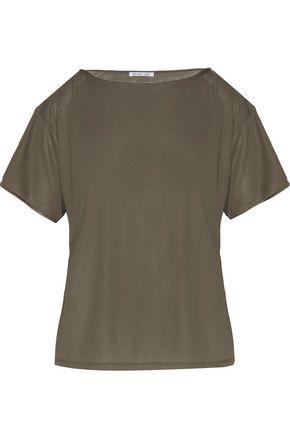 HELMUT LANG Silk-jersey top