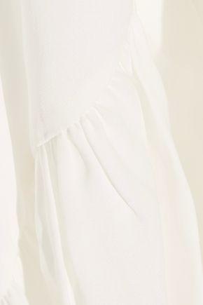 DIANE VON FURSTENBERG Lanzi silk crepe de chine top