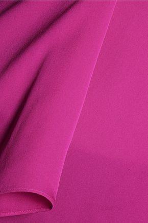DIANE VON FURSTENBERG Abbi silk-crepe top
