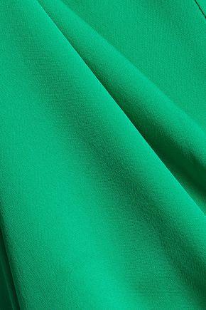 DIANE VON FURSTENBERG Karrly silk-crepe top