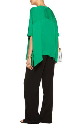 DIANE VON FURSTENBERG Silk crepe de chine blouse