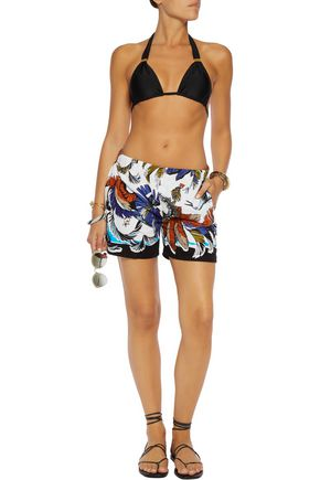 EMILIO PUCCI Printed terry shorts