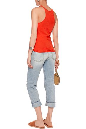ENZA COSTA Stretch-cotton jersey tank