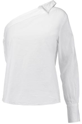 W118 by WALTER BAKER Drew one-shoulder cotton top