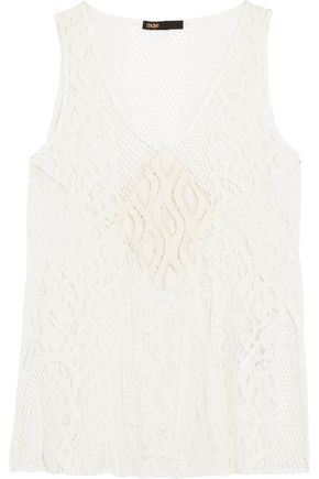MAJE Corded lace top