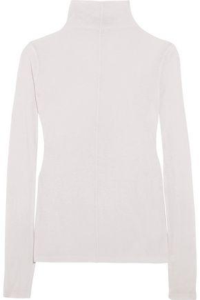 MAJE Mélange wool-blend turtleneck sweater