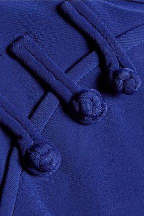 NORMA KAMALI Suzie Q wrap-effect stretch-jersey playsuit