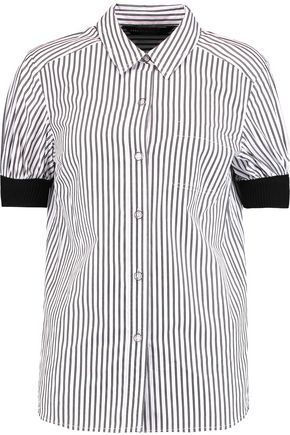 MARC BY MARC JACOBS Striped cotton-poplin shirt