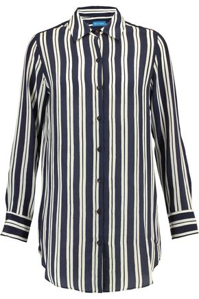 M.I.H JEANS Striped silk shirt