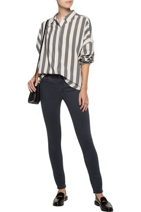 M.I.H JEANS Carter striped cotton shirt