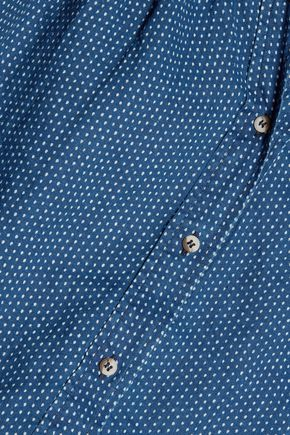 M.I.H JEANS Polka-dot linen shirt