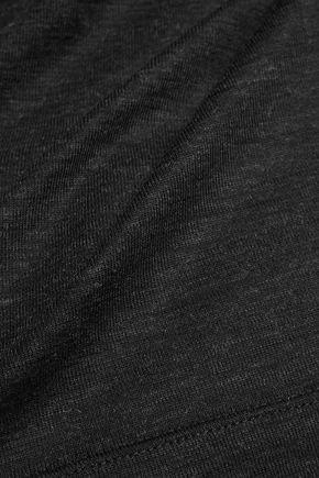 BRUNELLO CUCINELLI Slub stretch-wool top