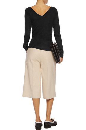 BRUNELLO CUCINELLI Slub stretch-wool top