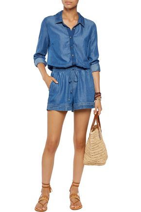SPLENDID Denim playsuit