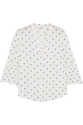 SPLENDID Polka-dot crepe top