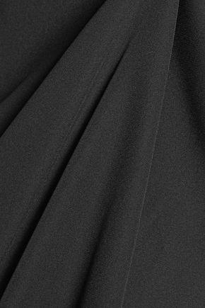 HAUTE HIPPIE Cascade asymmetric silk crepe de chine top