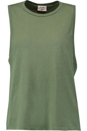 RE/DONE Cotton-jersey tank