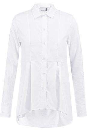8 Cotton-jacquard shirt