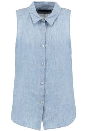 J BRAND Winslet linen top