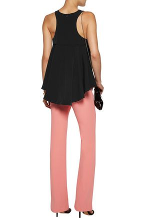 MILLY Asymmetric stretch-cady top