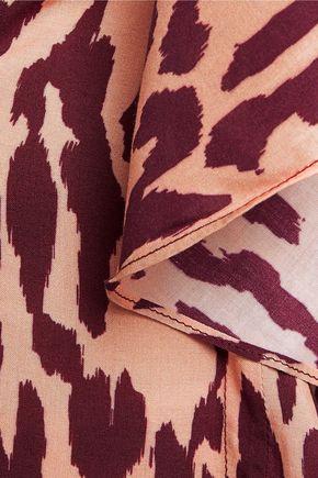 VIX Bali printed voile kaftan