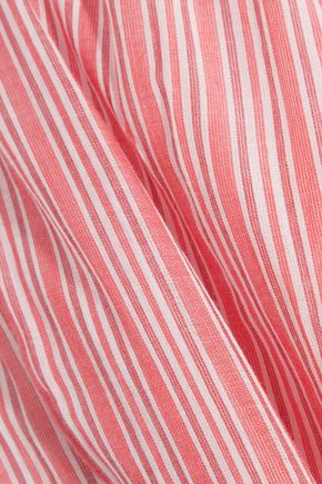 ZIMMERMANN Roza striped cotton-voile shorts