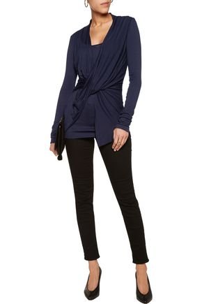 BAILEY 44 Draped stretch-jersey top