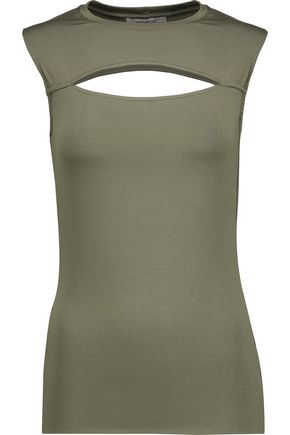 BAILEY 44 Cutout stretch-jersey tank