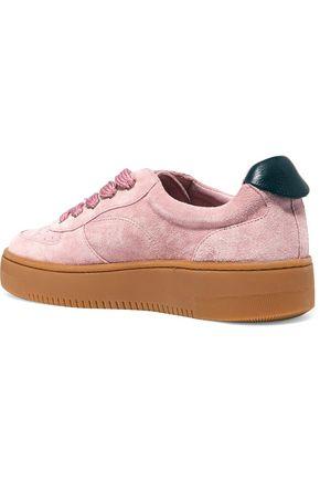 SANDRO Suede sneakers