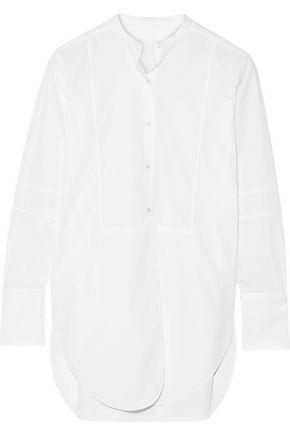 HELMUT LANG Oversized cotton-poplin shirt