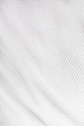 J BRAND Oakwood ribbed stretch-cotton T-shirt